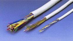 画像1: 日本製線 高性能電子ボタンケーブル 0.5mmNSケーブル 0.5×10P 100m巻 グレー 送料無料