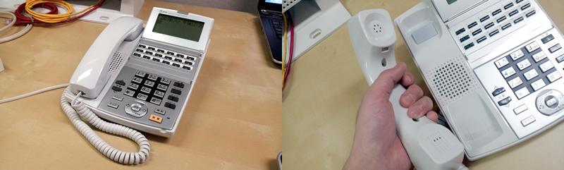 αNXの電話機は更に使いやすくなっています。中古品といえども美品です。