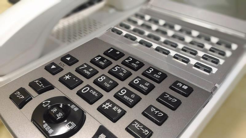 αNXⅡ 電話機 NX2-24STEL-1W NX2-18STEL-1W