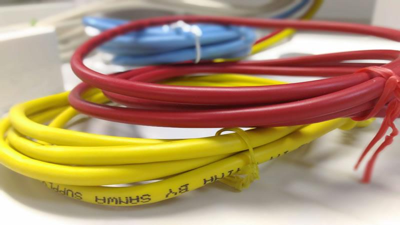 αNXⅡ 主装置 NX2M-ME 工事 配線 接続 スター LAN